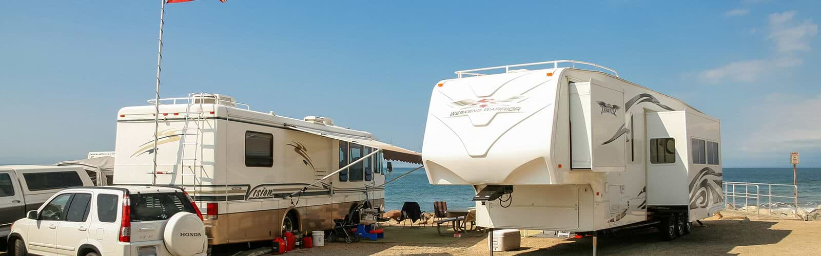 Recreational Vehicle Or Travel Trailer