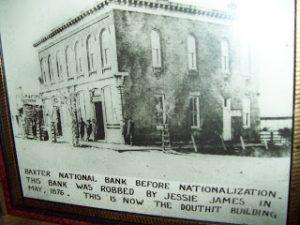 baxter springs bank