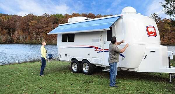 camper trailers fiberglass maintenance