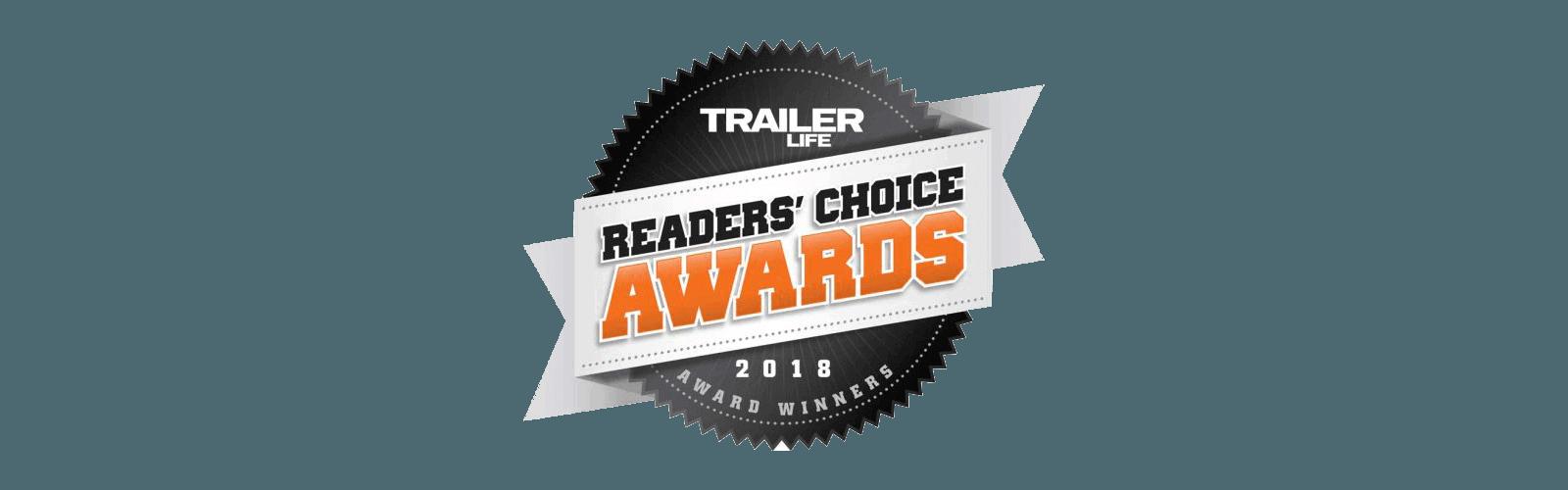 Trailer Life Readers' Choice Award