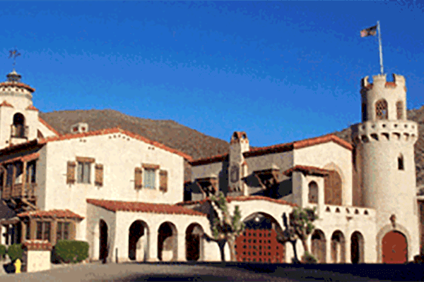 Mission Revival and Spanish Colonial Revival Villa