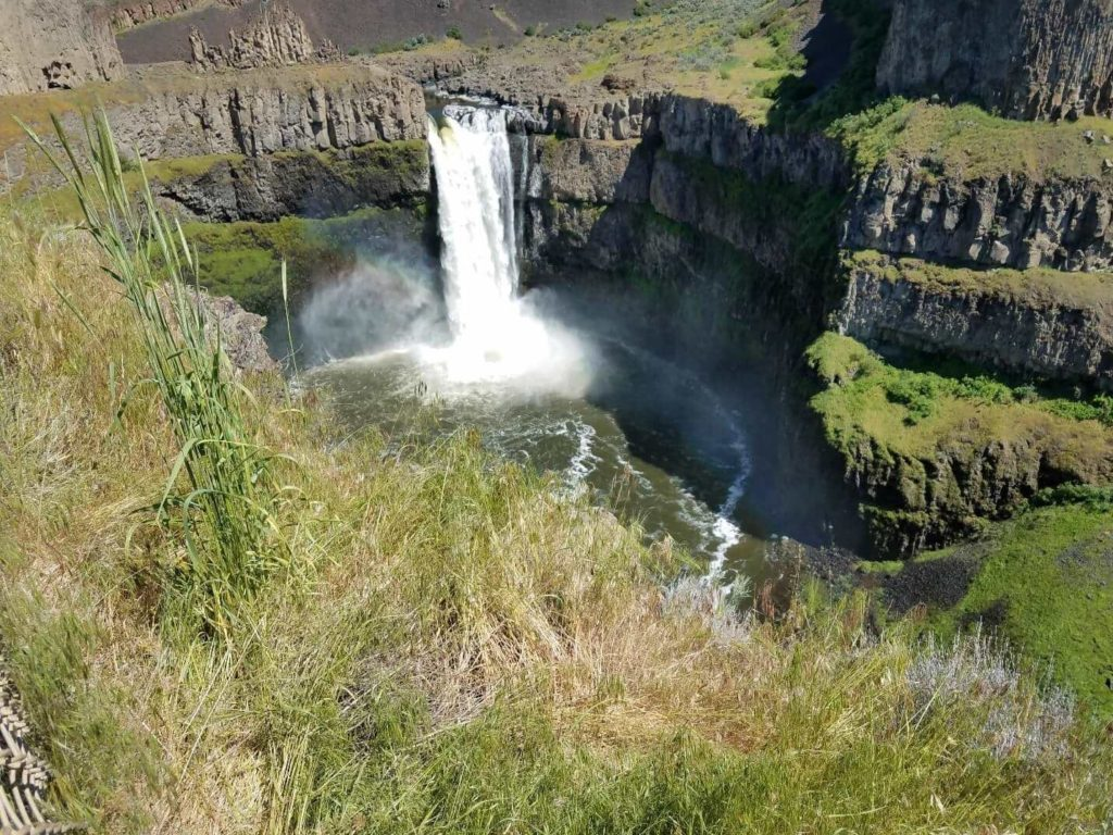 "Palouse Falls is considered the ""crown jewel"" of the Palouse River"