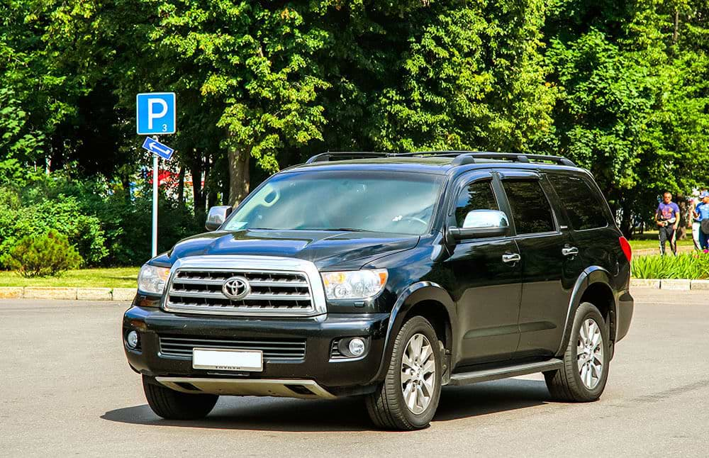 towing with toyota sequoia