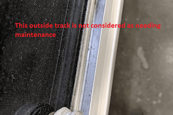 Window Tracks Inspection and Maintenance