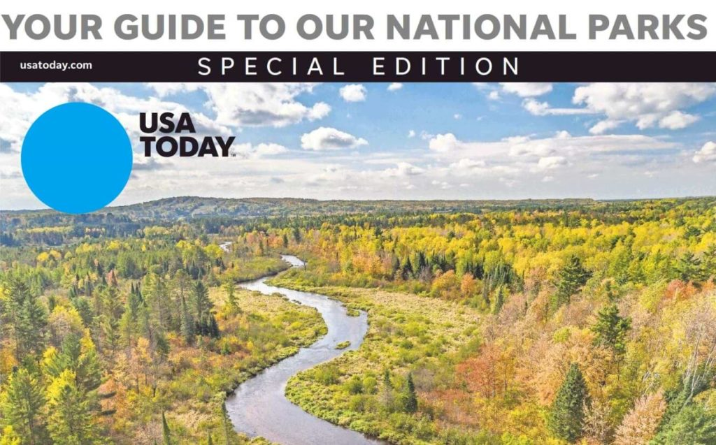 usa today guide national parks special edition