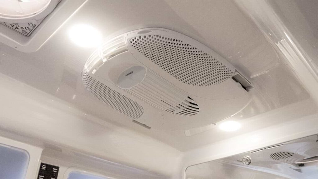 Ceiling Fans Help Keep The Inside Cool