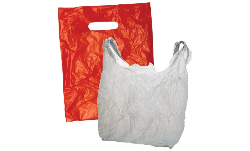plastic grocery and shopping bag accepted waste