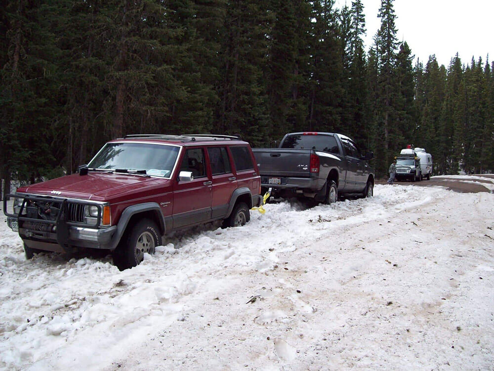 jeeps now stuck
