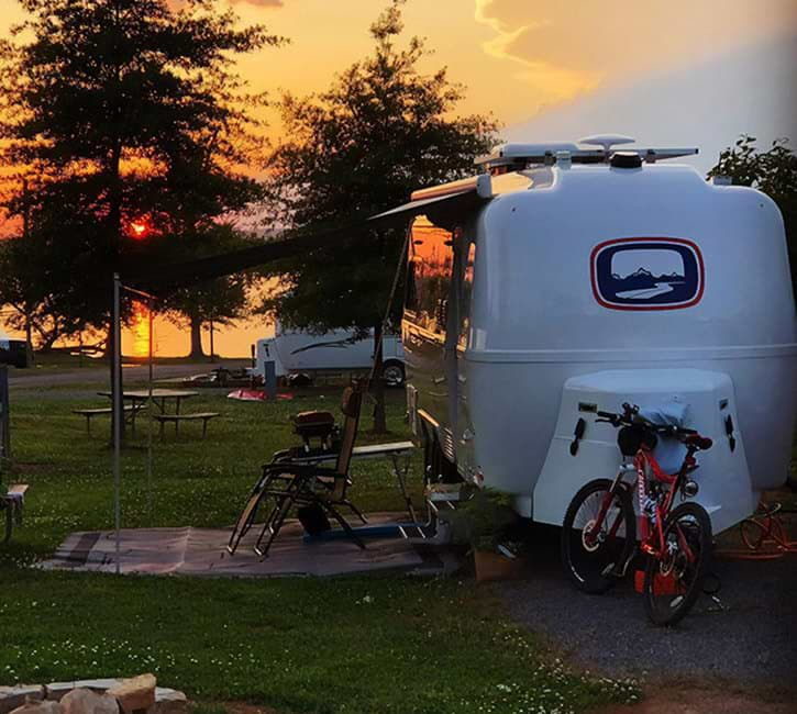 get started with oliver travel trailers camping