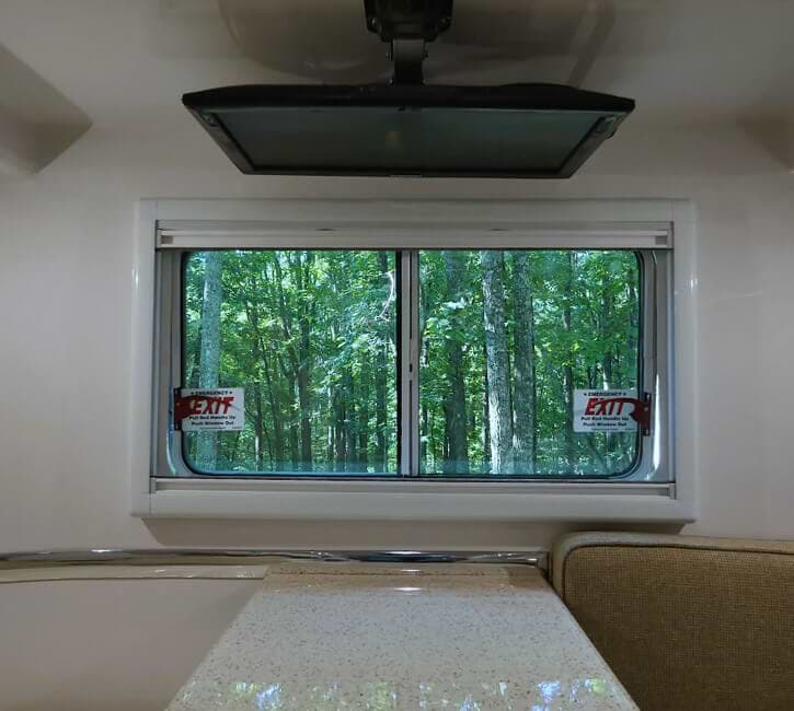double pane window 4 season travel trailer rv