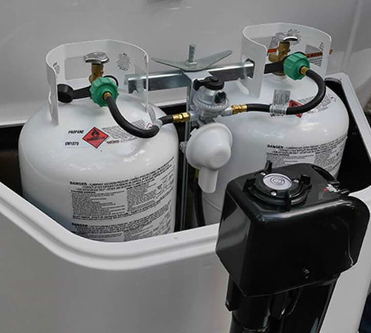 self contained propane