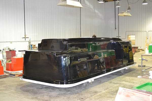 rv fiberglass shell construction