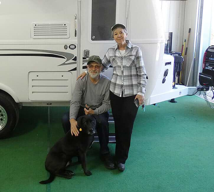 oliver travel trailer delivery customers