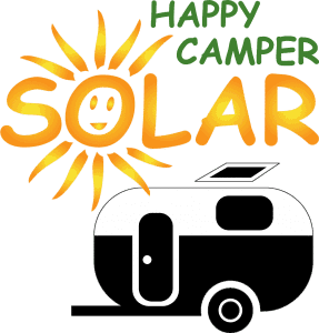 happy camper solar logo