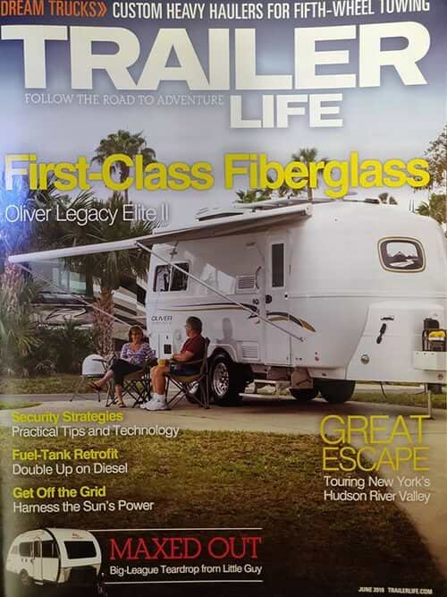 trailer life cover june 2018 oliver travel trailers
