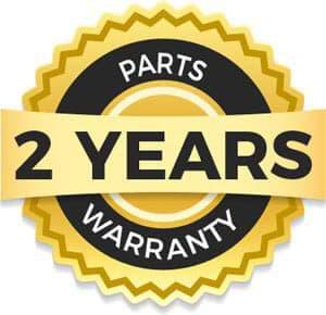 parts 2 year warranty