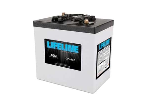 Lifeline 6-Volt AGM Deep Cycle Battery Package