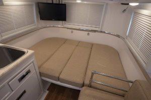 Standard Floor Plan Converted into Sleeping Mode