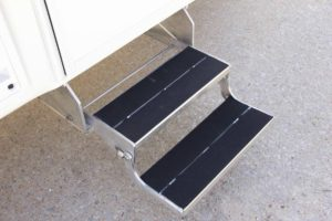 Aluminum Double Entry Folding Steps