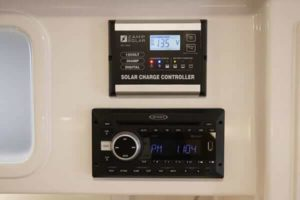 ZAMP Solar Charge Controller with Jensen Radio