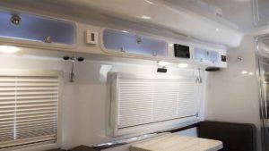 Interior Upper Cabinets over Dinette