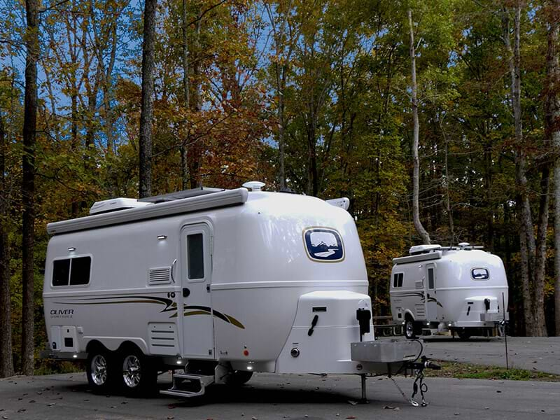 Compare Elite and Elite II Travel Trailers