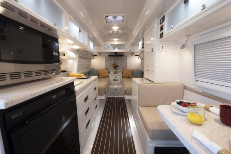 Legacy Elite 2 Twin Bed Inside View
