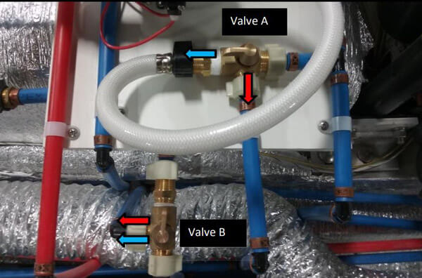 valve configurations for 2016 and prior models
