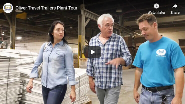 Oliver Travel Trailer Factory Tour