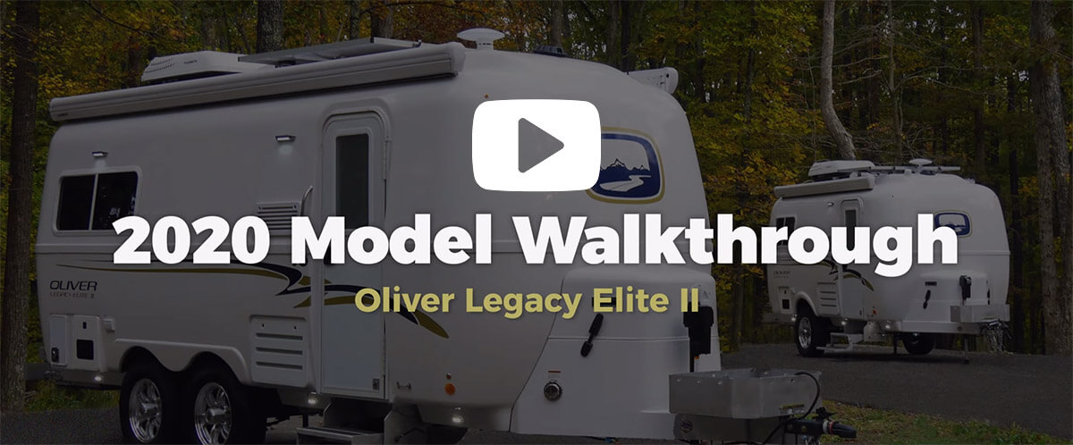 fiberglass travel trailer walkthrough