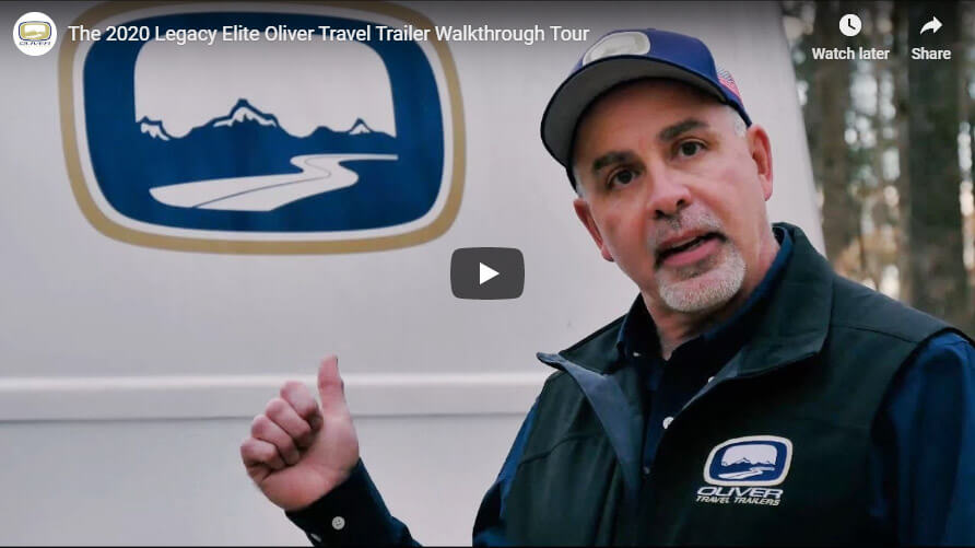 small travel trailer legacy elite walkthrough