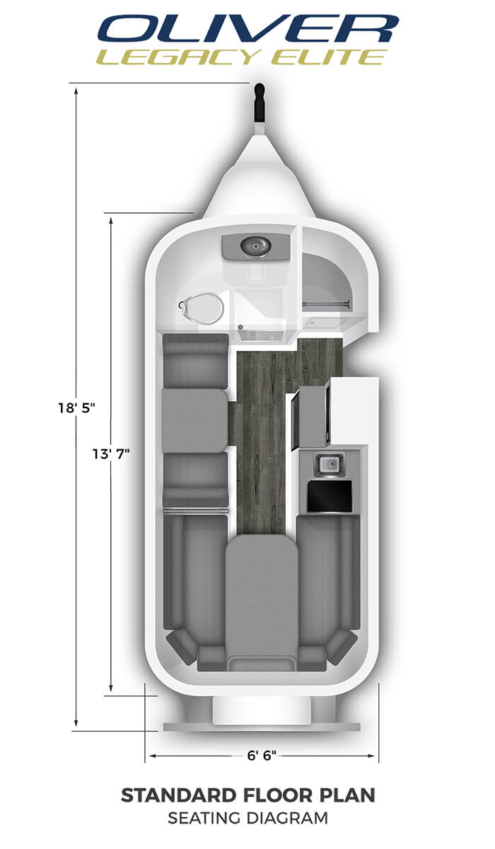 Elite Standard Floor Plan Seating