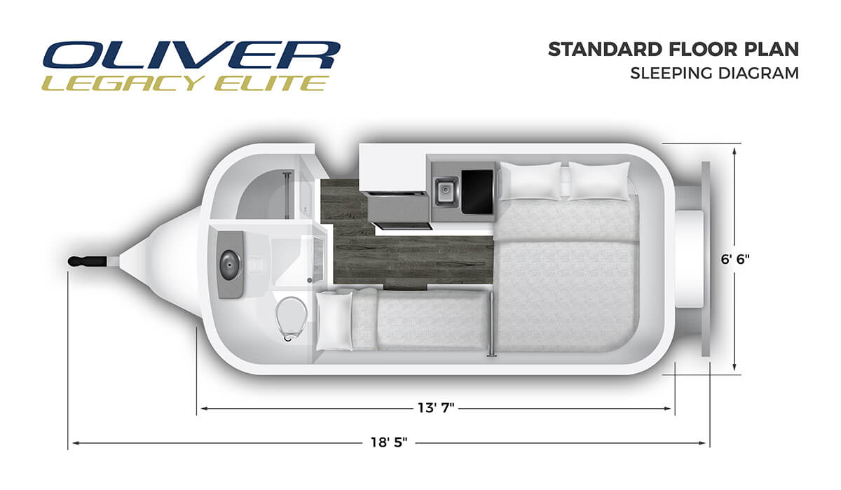 RV standard floor plan