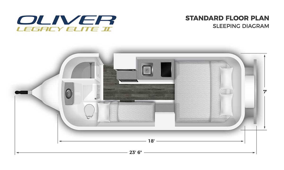 2020 Elite II Standard Sleeping