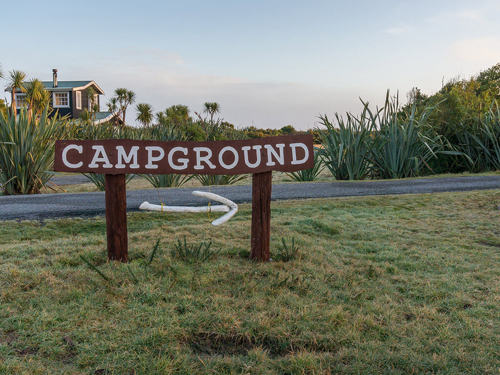 choosing your campsite and planning route