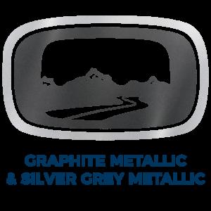 Graphite Metallic & Silver Grey Metallic
